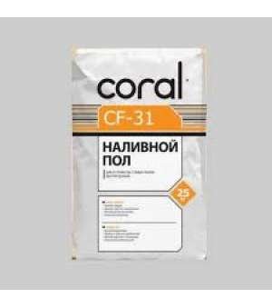 Стяжка для пола Coral CF-31 (Корал) (25 кг)