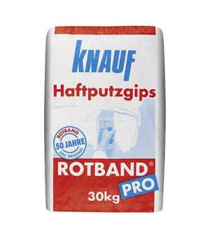 Штукатурка Гипсовая Кнауф Ротбанд Про (30кг) машинная (Knauf Rotband Pro)