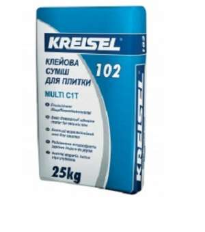Клей для плитки Kreisel-102 (Крайзель) (25кг)