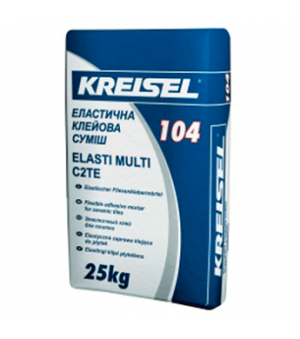 Клей для Плитки Эластичный Kreisel-104 (Крайзель) (25кг)
