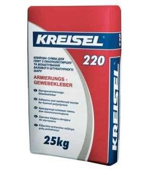 Клей для Армирования Теплоизоляции Kreisel-220 (Крайзель) (25кг)