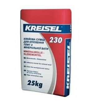 Клей для Минеральной ваты Kreisel-230 (Крайзель) (25кг)