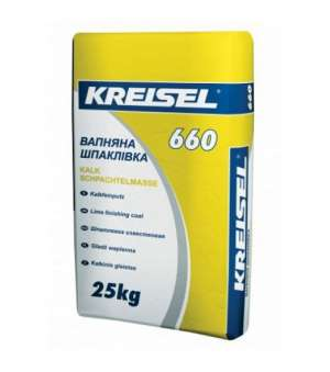 Шпаклевка Известковая Kreisel-660 (Крайзель) (25кг)