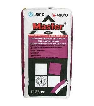 Клей для плитки Эластичный Master Flex (Мастер Флекс) (25кг)