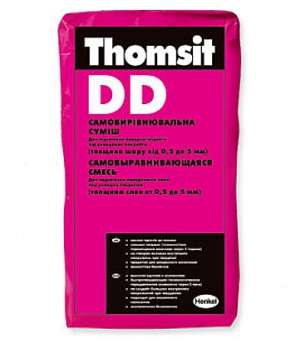 Самовыравнивающаяся Смесь (0,5-5мм) Thomsit DD (Томзит ) (25 Кг)