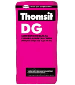 Самовыравнивающаяся Гипсово-Цементная Смесь Thomsit DG (3-30мм) (Томзит ДГ)