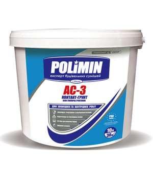 Грунт-Краска Полимин АС-3 (Polimin) (10л)