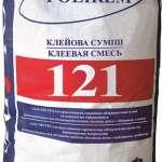Клей для плитки Эластичный Polirem-121 (Полирем) (25кг)