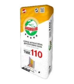 "Штукатурка Декоративная Anserglob ТМК-110 ""Короед"" 2,5мм (25 кг) (белая)"