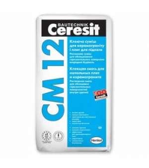 Клей для Керамогранита Ceresit CM-12 (Церезит) (25 кг)