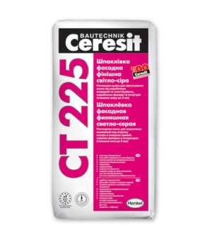 Шпаклевка Фасадная Ceresit CT-225 (Церезит) Белая (25 кг)