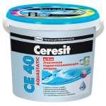 Водоотталкивающая Затирка для швов Ceresit CE-40 Абрикос (Церезит) (2кг)