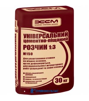 Цементно-песчаная смесь 1:3 ЦПС ХСМ (30кг)