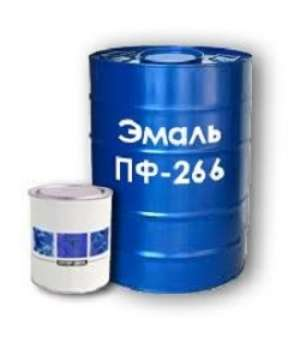 """Эмаль ПФ-266 Желто-коричневая """"Гост"""" (2,5кг)"""