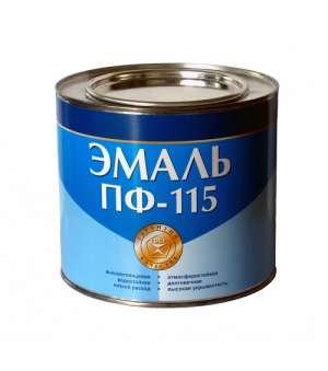 """Эмаль Алкидная ПФ-115 Светло-зеленая """"ГОСТ"""" (2,8кг)"""