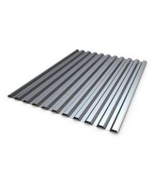 Профнастил Оцинкованный 0,95*2м*10 мм (0,4мм) (шт)