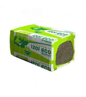 Минераловатная плита Izol Eko-140 (110пл.) (1000*600*50мм) (2,4м2/уп)